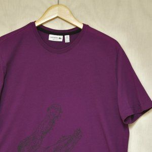 Lacoste Graphic Short Sleeve Tee 6 XL